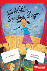 Storytown  Readers Teacher's Guide Below-Level World's Greatest Singer-9780153631405