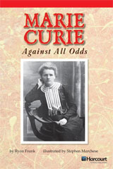 Storytown  Readers Teacher's Guide Below-Level Marie Curie: Against All Odds-9780153631719