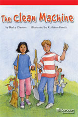 Storytown  Readers Teacher's Guide Below-Level The Clean Machine-9780153631771