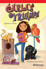 Storytown  Readers Teacher's Guide Below-Level Carla's Triumph-9780153631832