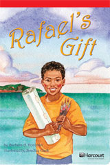 Storytown  Readers Teacher's Guide Below-Level Rafael's Gift-9780153631849