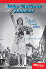 Storytown  Readers Teacher's Guide Below-Level Babe Didrikson Zaharias: The World's Greatest Athlete-9780153631863
