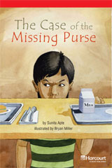 Storytown  Readers Teacher's Guide Below-Level The Case of the Missing Purse-9780153631924