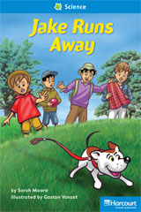 Storytown  Readers Teacher's Guide On-Level Jake Runs Away-9780153632334