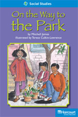 Storytown  Readers Teacher's Guide On-Level On the Way to the Park-9780153632358