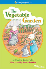 Storytown  Readers Teacher's Guide On-Level Vegetable Garden-9780153632433