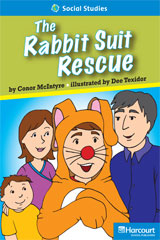 Storytown  Readers Teacher's Guide On-Level Rabbit Suit Rescue-9780153632556