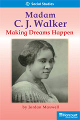 Storytown  Readers Teacher's Guide On-Level Madame CJ Walker: Making Dreams Happen-9780153632617