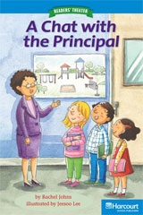 Storytown  Readers Teacher's Guide On-Level A Chat with the Principal-9780153632679