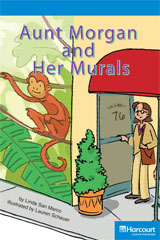 Storytown  Readers Teacher's Guide On-Level Aunt Morgan and Her Murals-9780153632938