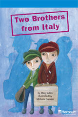 Storytown  Readers Teacher's Guide On-Level Two Brothers from Italy-9780153633133