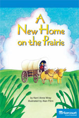 Storytown  Readers Teacher's Guide On-Level A New Home on the Prairie-9780153633171