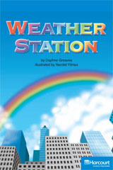 Storytown  Readers Teacher's Guide On-Level Weather Station-9780153633218