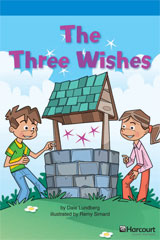Storytown  Readers Teacher's Guide On-Level The Three Wishes-9780153633331