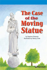 Storytown  Readers Teacher's Guide On-Level The Case of the Moving Statue-9780153633355