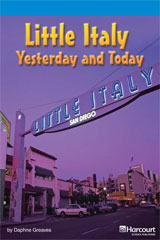 Storytown  Readers Teacher's Guide On-Level Little Italy, Yesterday and Today-9780153633409