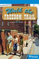 Storytown  Readers Teacher's Guide On-Level Walk the Freedom Trail-9780153633546