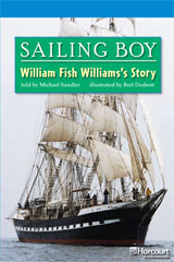 Storytown  Readers Teacher's Guide On-Level Sailing Boy, William Fish Williams Story-9780153633577