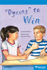 Storytown  Readers Teacher's Guide On-Level Dyeing to Win-9780153633645