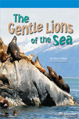 Storytown  Readers Teacher's Guide On-Level The Gentle Lions of the Sea-9780153633683