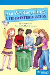 Storytown  Readers Teacher's Guide On-Level Are We Recycling? A Video Investigation-9780153633720