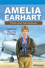 Storytown  Readers Teacher's Guide On-Level Amelia Earhart, Pilot and Adventurer-9780153633744