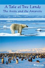 Storytown  Readers Teacher's Guide On-Level A Tale of Two Lands The Arctic and the Antarctic-9780153633881