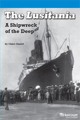 Storytown  Readers Teacher's Guide On-Level The Lusitania, A Shipwreck of the Deep-9780153634062