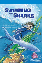 Storytown  Readers Teacher's Guide On-Level Swimming with Sharks-9780153634093