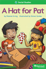 Storytown  Readers Teacher's Guide Above-Level A Hat for Pat-9780153634109