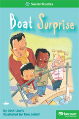 Storytown  Readers Teacher's Guide Above-Level Boat Surprise-9780153634284