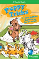 Storytown  Readers Teacher's Guide Above-Level Puppy Tricks-9780153634628