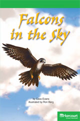 Storytown  Readers Teacher's Guide Above-Level Falcons in the Sky-9780153634925