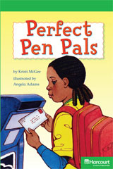 Storytown  Readers Teacher's Guide Above-Level Perfect Pen Pals-9780153635465