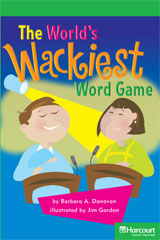 Storytown  Readers Teacher's Guide Above-Level The Wackiest Word Game-9780153635502