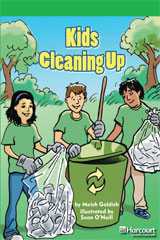 Storytown  Readers Teacher's Guide Above-Level Kids Cleaning Up-9780153635557