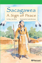 Storytown  Readers Teacher's Guide Above-Level Sacagawea, A Token of Peace-9780153635564