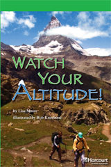 Storytown  Readers Teacher's Guide Above-Level Watch Your Altitude!-9780153635588