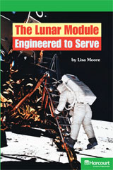 Storytown  Readers Teacher's Guide Above-Level The Lunar Module, Engineered to Serve-9780153635595