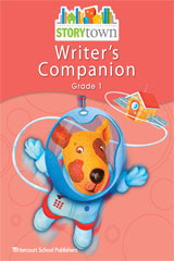 Storytown  Writer's Companion Student Edition Grade 1-9780153670725