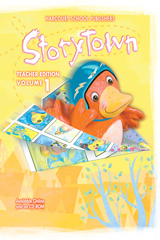 Storytown  Teacher Edition Volume 1-9780153721151