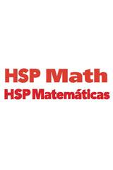 HSP Matemáticas © 2009  Student Edition eBook Grade 4-9780153829130