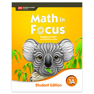 Math in Focus  Student Edition Volume A Grade 1-9780358101772