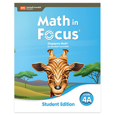 Math in Focus  Student Edition Volume A Grade 4-9780358101840