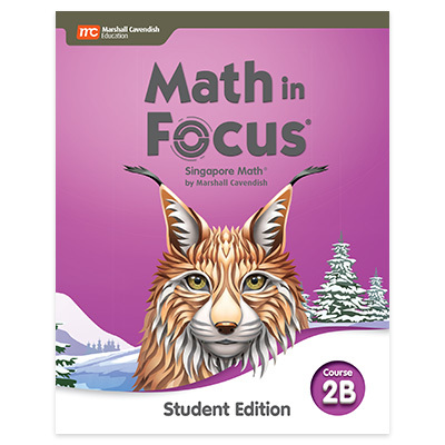 Math in Focus  Student Edition Volume B Course 2-9780358101925