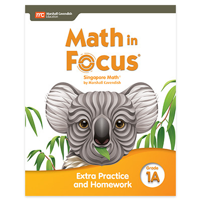 Math in Focus  Extra Practice and Homework Volume A Grade 1-9780358102984