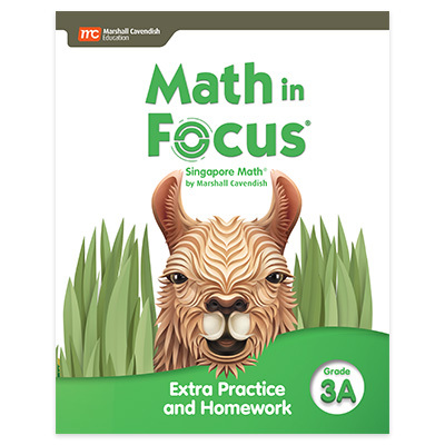 Math in Focus  Extra Practice and Homework Volume A Grade 3-9780358103028