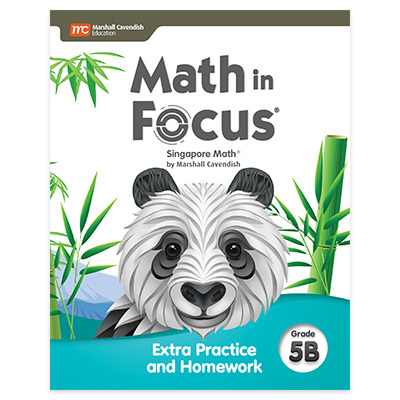 Math in Focus  Extra Practice and Homework Volume B Grade 5-9780358103073