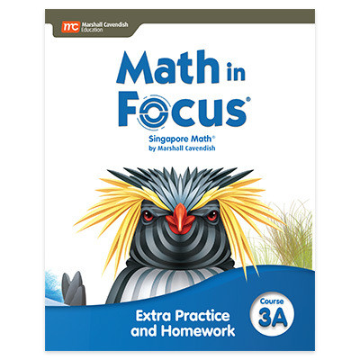 Math in Focus  Extra Practice and Homework Volume A Course 3-9780358103127