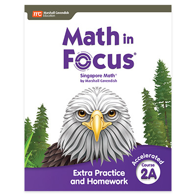 Math in Focus  Extra Practice and Homework Volume A Accelerated-9780358103141